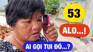 Phản ứng của chị Duyên bán vé số thế nào khi lần đầu được sử dụng điện thoại di động | RÔ LÍL NGUYỄN
