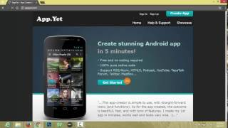 How to Make An Android App For Blogger Blog Tutorial Video