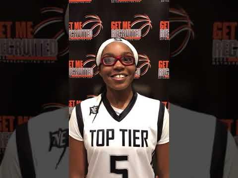 Zaria Hurston (Top Tier Elite 14U/Pinckneyville Middle/Corners, GA) 2021 5'10 F -
