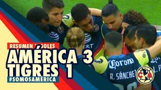 Resumen y goles | América 3 - 1 Tigres | GUARD1ANES 2020