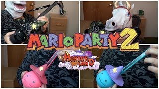 Mario Party 2 - Horror Land - Otamatone + Violin Cover || mklachu (Original vid minus Nintendo clip)