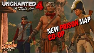 Uncharted 4 Survival Co-Op | NEW PRISON MAP (Hard)