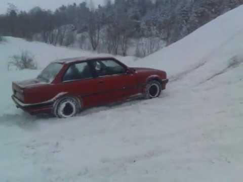 BMW Ix E Snow YouTube - Bmw 325ix