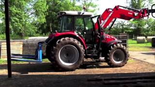 Massey Ferguson 5610 tractor test