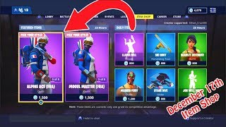 *RARE* ALPINE ACE AND MOGUL MASTER SKINS - FORTNITE ITEM SHOP