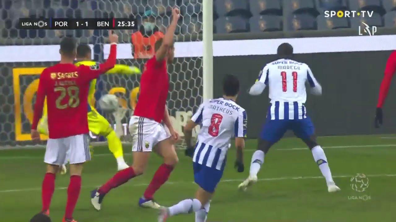 Goal Golo Mehdi Fc Porto 1 1 Benfica Liga 20 21 14 Youtube