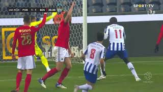 Goal | Golo Mehdi: FC Porto (1)-1 Benfica (Liga 20/21 #14)
