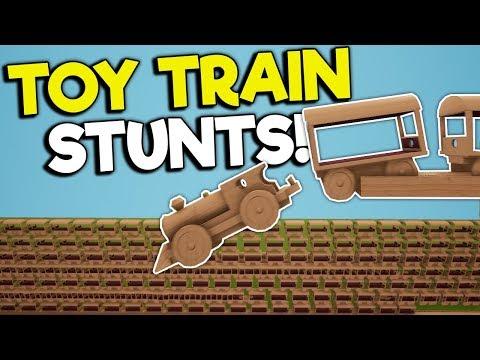 CREATING A HUGE TRAIN STACK U0026 CRASH! - Tracks - The Train Set Game Gameplay - Toy Trains