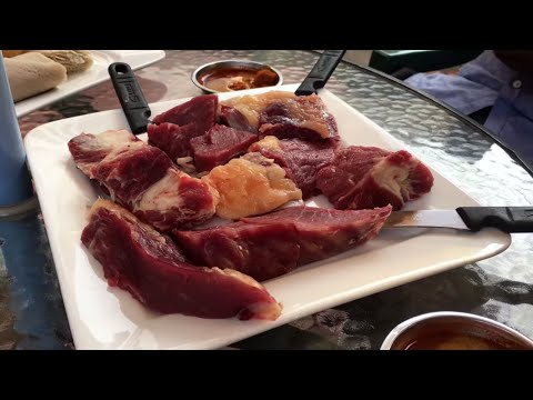 Eating Raw Beef in Ethiopia