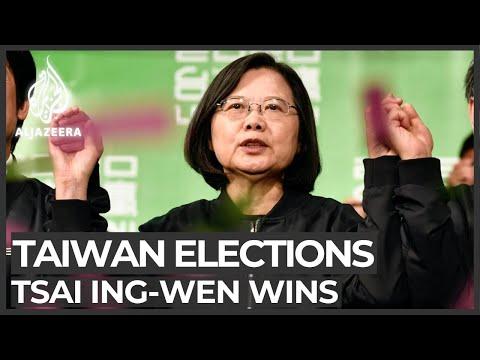 Tsai Ing-wen wins landslide in Taiwan presidential election