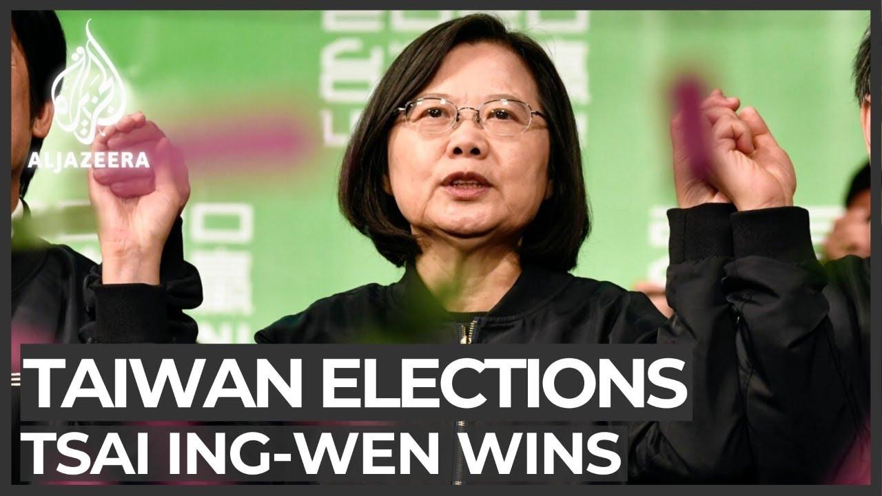 Download Tsai Ing-wen wins landslide in Taiwan presidential election