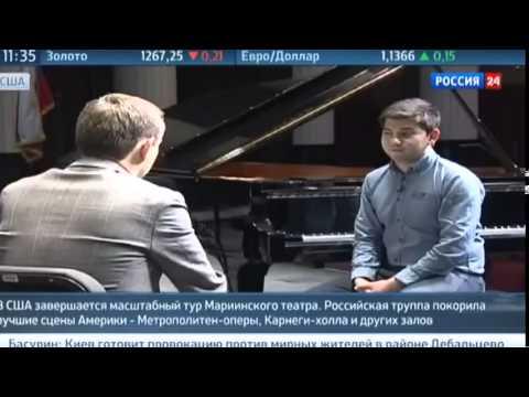 Талантливый пианист из Узбекистана