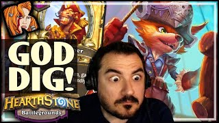 EUDORA'S GOD-DIG - Hearthstone Battlegrounds