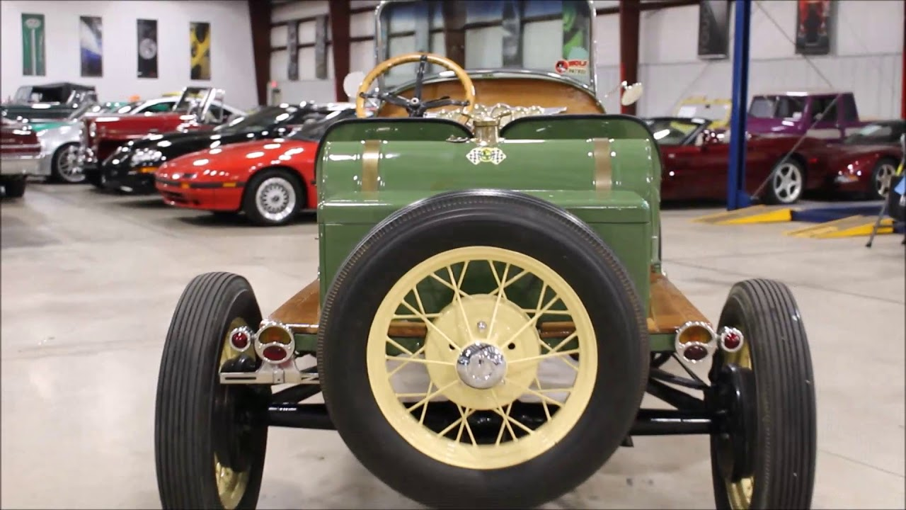 1930 ford model a speedster green youtube. Black Bedroom Furniture Sets. Home Design Ideas