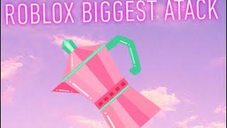 La grosse attaque de Roblox -Tea