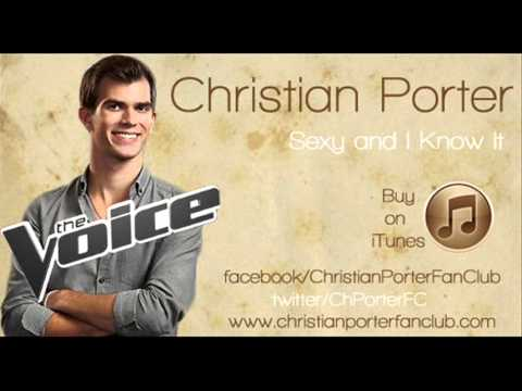 Christian Porter (Sexy and I Know it) The Voice USA - Studio version