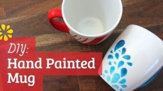 DIY Hand Painted Mug