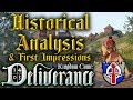 Kingdom Come, Deliverance: Historical analysis, First Impressions