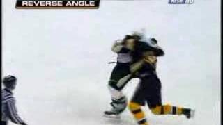 Zdeno Chara vs. Georges Laraque