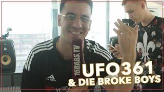 Ufo361 - Harry Potter Freestyle / Studiosession mit den Broke Boys (16BARS.TV)