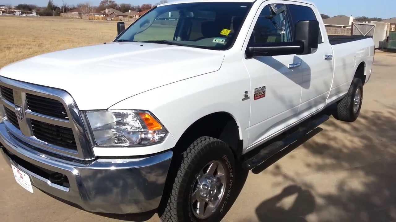 2012 Ram 2500 Slt Truck Crew Cab Cummins Turbo Diesel 11k