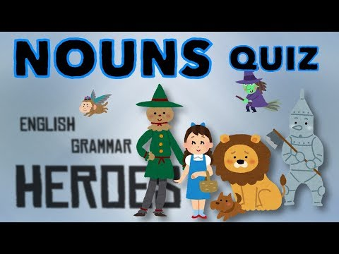 Basic Nouns - Animated Quiz