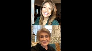 Gambar cover The Talk Chat Room: Sharon Osbourne & Carrie Ann Inaba