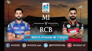 Live ipl cricgully show mumbai vs rcb  | ipl 2018 live match preview