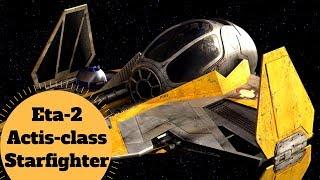 The Jedi Interceptor! - Eta-2 Actis-class Interceptor - Star Wars Starfighter Lore Explained