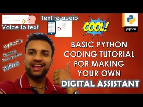 PYTHON | SPEECH TO TEXT| text to voice assistant | pyttsx3