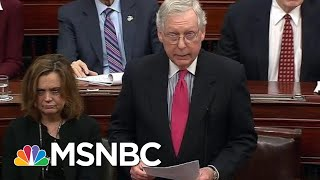 Lawrence: Why Mitch McConnell Revealed He Doesn't Have The Votes | The Last Word | MSNBC