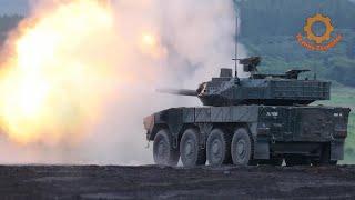 Японский колесный танк TYPE 16 MCV. Бей и беги!