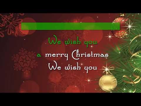 We Wish You A Merry Christmas (Karaoke)