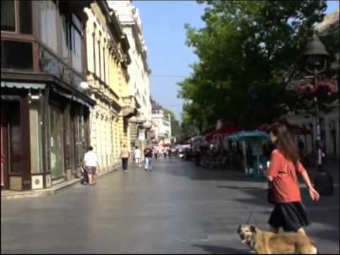 The streets of Belgrade/Beograd