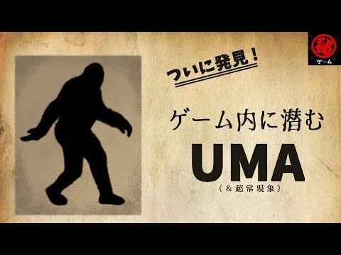 ついに発見!ゲーム内に潜むUMAと超常現象 - マル秘ゲーム -
