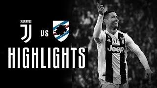 Ювентус 2 0 Сампдория обзор матча Juventus vs Sampdoria Extended all goals Highlight