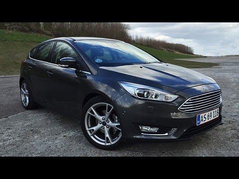 Ford Focus 2 0 Tdci 150 Hk Titanium 2015 Review Youtube
