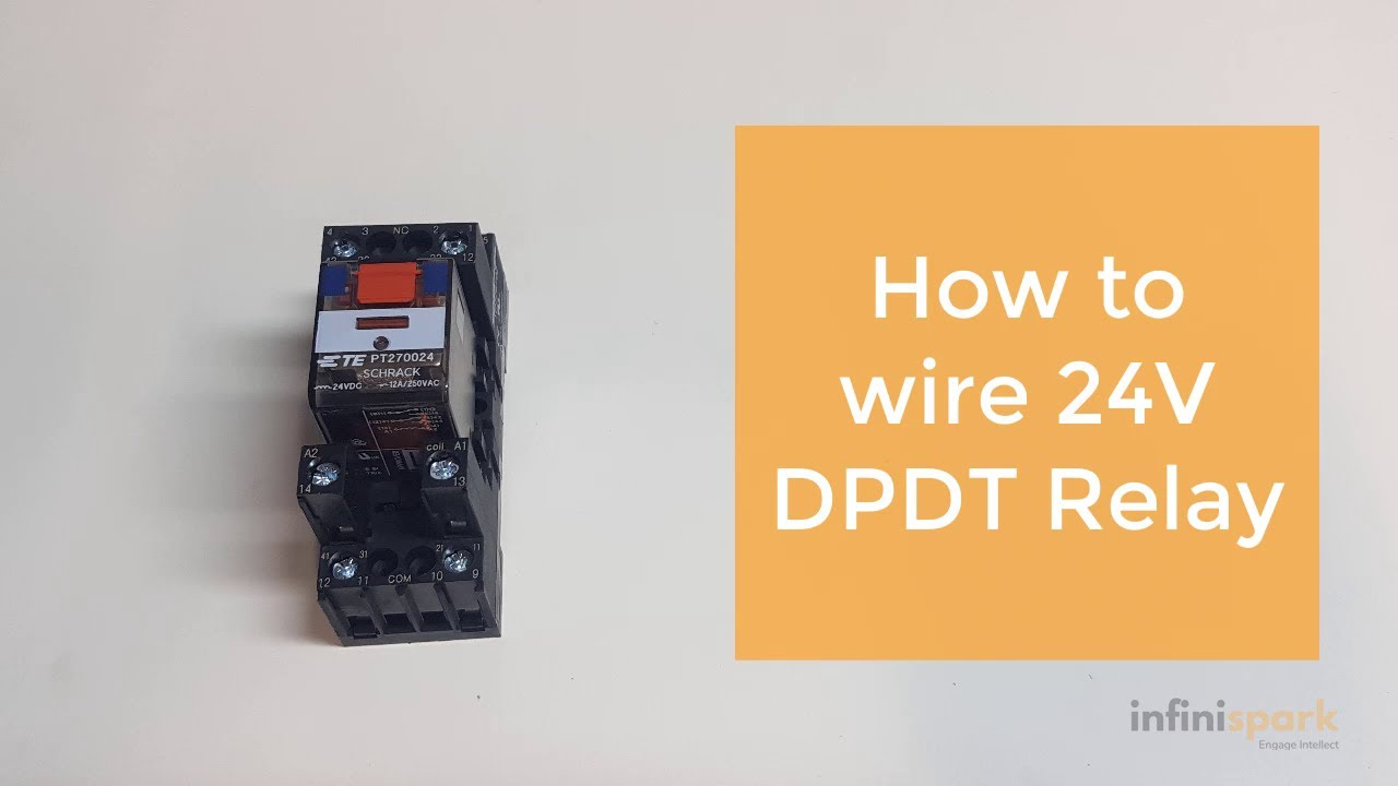 How To Wire A 24v Relay Youtube