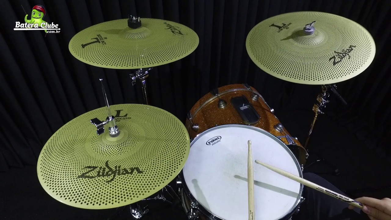 quick check zildjian low volume l80 kit 14 16 e 18 lv468 cymbal pack youtube. Black Bedroom Furniture Sets. Home Design Ideas