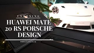 Huawei Mate 20 RS Porsche Design Unboxing: From A Very Special Location