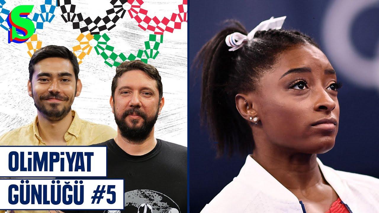 🇹🇷 Türkiye - 🇮🇹 İtalya, Simone Biles, Naomi Osaka, Busenaz Sürmeneli   Olimpiyat Günlüğü #5