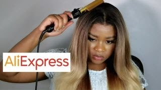 BEST ALIEXPRESS AFFORDABLE BLONDE OMBRE WIG INSTALL ft. SOKU | Aliexpress Wig Tryon ⋆GIVEAWAY*