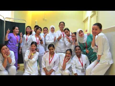 Nurses At Taiba Hospital, Kuwait (International Nurses Week 2014)