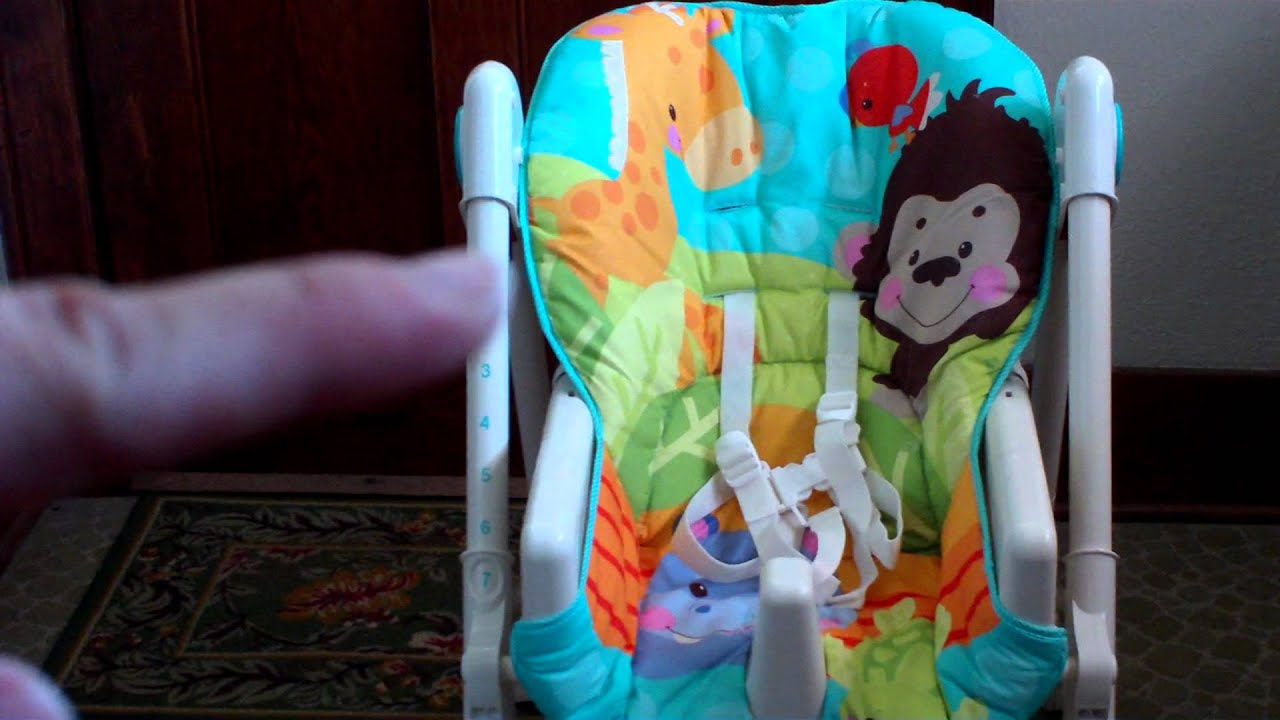 Fisher price precious planet high chair - Fisher Price Precious Planet High Chair 5