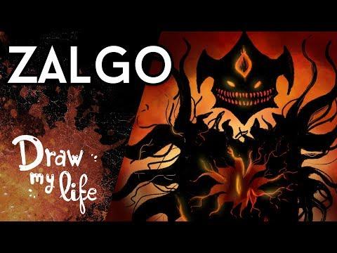 ZALGO, un ser MÁS TEMIBLE que SLENDERMAN - Draw My Life