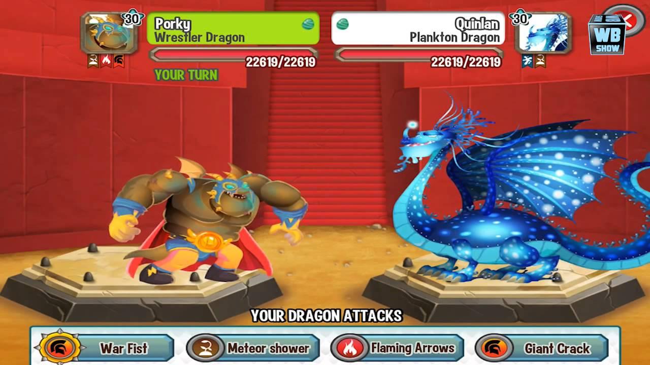 Dragon City Pirate Island Battle 5 Plankton