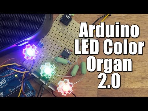 How to Make an LED Light Show on Your Back #