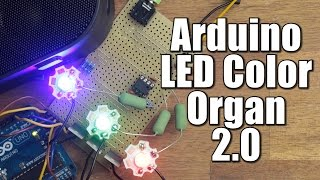 DIY Arduino LED Color Organ 2.0