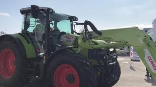 Swiss Skills 2018: Parcours mit Traktor und Frontschaufel