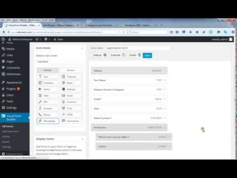 How to create any form in wordpress